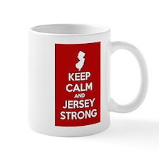 Keep Calm Jersey Strong Mug