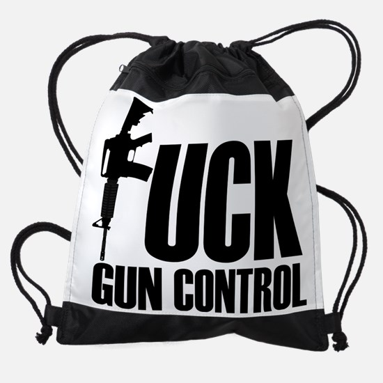 guncontrol Drawstring Bag