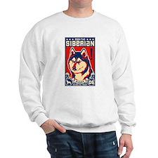 Obey the SIBERIAN HUSKY! Sweatshirt