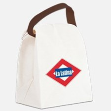 La Latina.png Canvas Lunch Bag