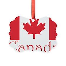 Canada flag.png Ornament