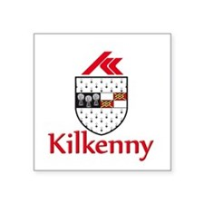 """kilkenny with name.png Square Sticker 3"""" x 3"""""""