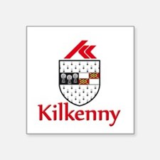 "kilkenny with name.png Square Sticker 3"" x 3"""