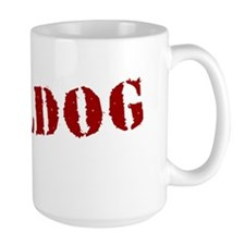 Bulldog Stamp Mug