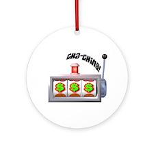 Cha-Ching! Slots! Ornament (Round)