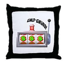 Cha-Ching! Slots! Throw Pillow
