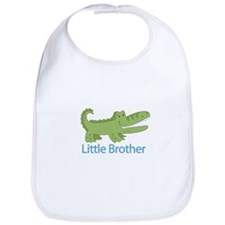 Little Brother Alligator Bib
