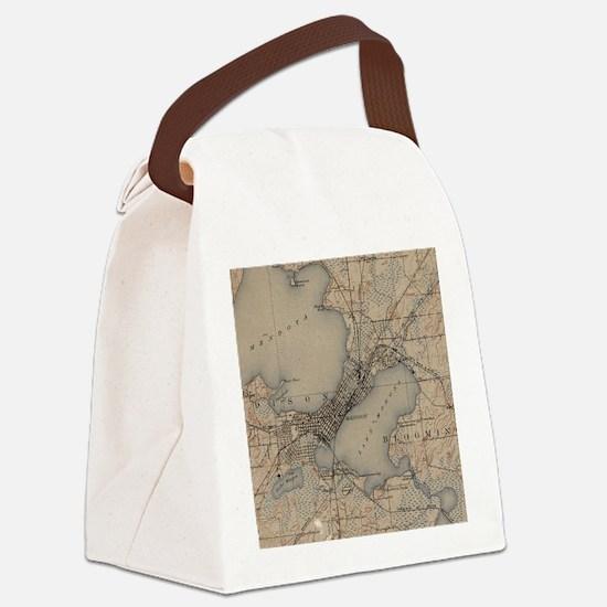 Unique Wi Canvas Lunch Bag