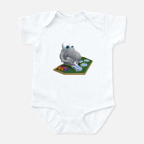 Card Shark Dealer Infant Bodysuit
