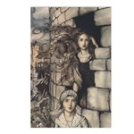 Rackham's Maid Maleen Postcards (Package of 8)