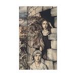 Rackham's Maid Maleen Rectangle Sticker