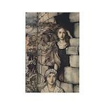 Rackham's Maid Maleen Rectangle Magnet