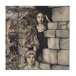 Rackham's Maid Maleen Tile Coaster