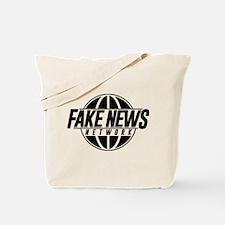 Fake News Network Distressed Tote Bag