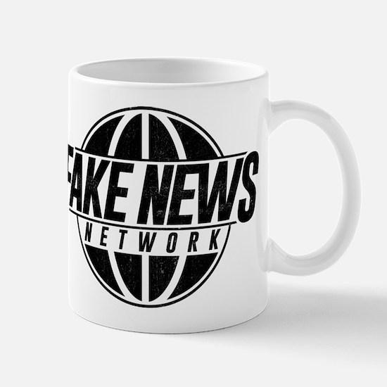 Fake News Network Distressed Mug