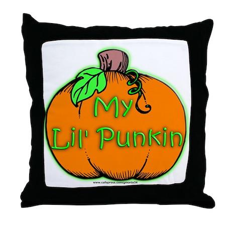 Lil' Punkin Throw Pillow