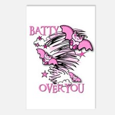 BATTY OVER YOU Postcards (Package of 8)