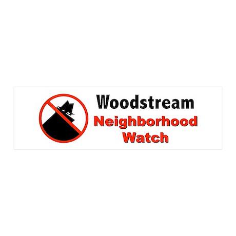 Neighborhood Watch 36x11 Wall Decal