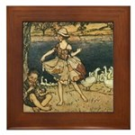 Rackham's Tattercoats Framed Tile