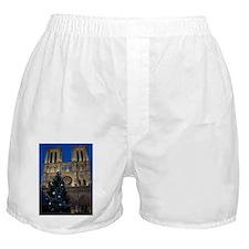 Notre Dame de Paris a NOEL Boxer Shorts