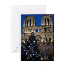 Notre Dame de Paris a NOEL Greeting Card