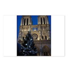 Notre Dame de Paris a NOEL Postcards (Package of 8