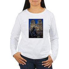 Notre Dame de Paris a NOEL Long Sleeve T-Shirt