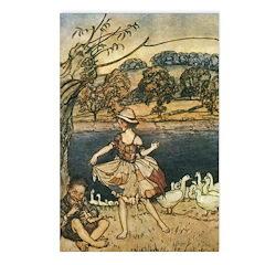 Rackham's Tattercoats Postcards (Package of 8)