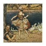 Rackham's Tattercoats Tile Coaster