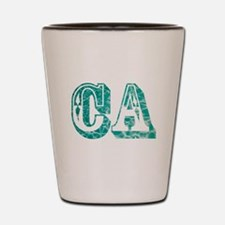 CA Shot Glass