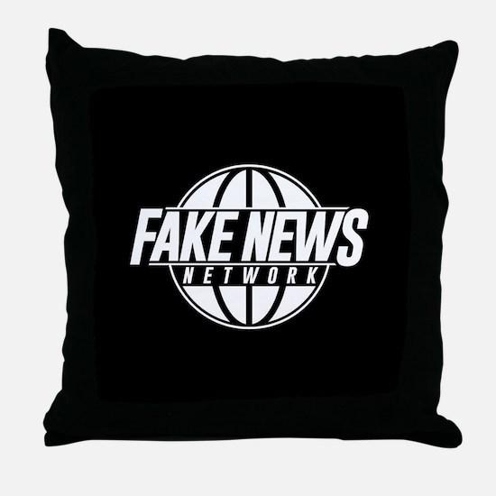 Fake News Network Throw Pillow