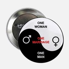 """""""Definition of Marriage"""" 2.25"""" Button"""