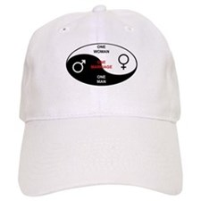 """""""Definition of Marriage"""" Baseball Cap"""