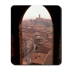 OVERVIEW OF SIENA, ITALY Mousepad