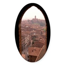 OVERVIEW OF SIENA, ITALY Decal