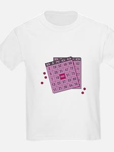 Bingo Cards Kids T-Shirt