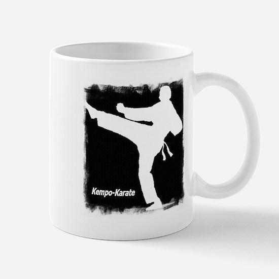 Black/White Kempo-Karate Mug