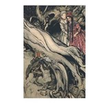Rackham's Snow White & Rose Red Postcards (Package