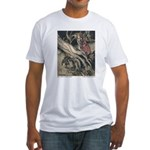 Rackham's Snow White & Rose Red Fitted T-Shirt
