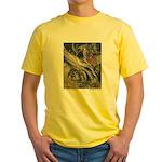 Rackham's Snow White & Rose Red Yellow T-Shirt