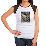 Rackham's Snow White & Rose Red Women's Cap Sleeve
