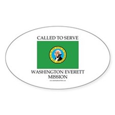 Washington Everett Mission - Washington Flag - Ca