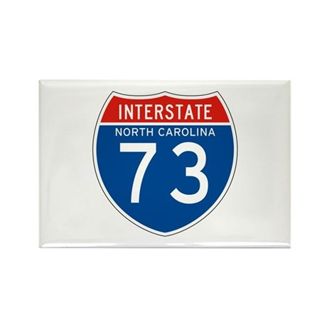 Interstate 73 - NC Rectangle Magnet (10 pack)