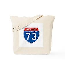Interstate 73 - NC Tote Bag