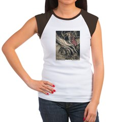 Rackham's Snow White & Rose Red Women's Cap Sleeve