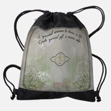 A Miners Wife Drawstring Bag