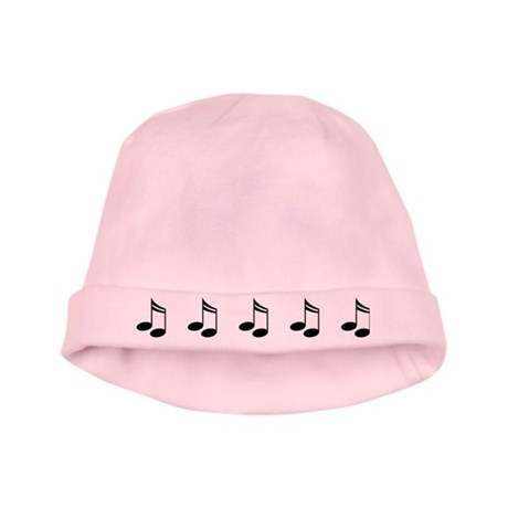 Music Eighth Notes baby hat