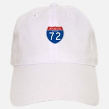 Interstate 72 - MO Baseball Baseball Cap