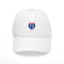 Interstate 72 - MO Baseball Cap