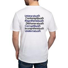 Bush Words Sweat-Free T-shirt